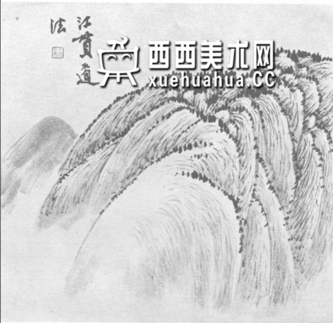 国画山石皴法详解(多图预警)(60)