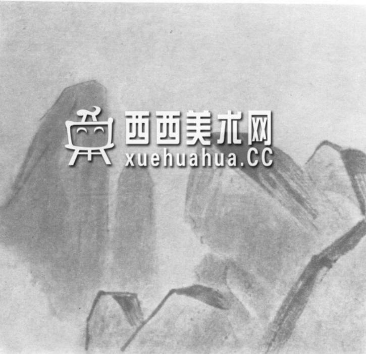 国画山石皴法详解(多图预警)(53)