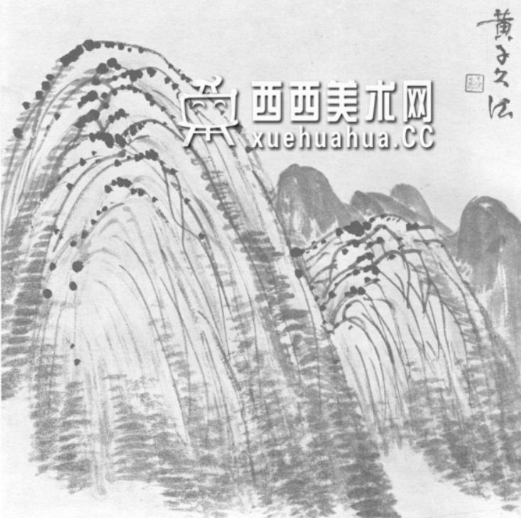 国画山石皴法详解(多图预警)(68)