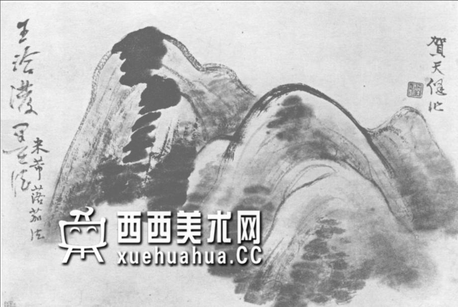 国画山石皴法详解(多图预警)(47)
