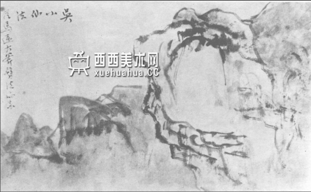 国画山石皴法详解(多图预警)(82)