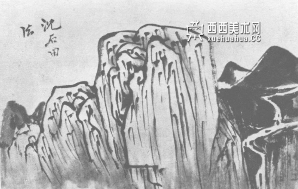 国画山石皴法详解(多图预警)(89)