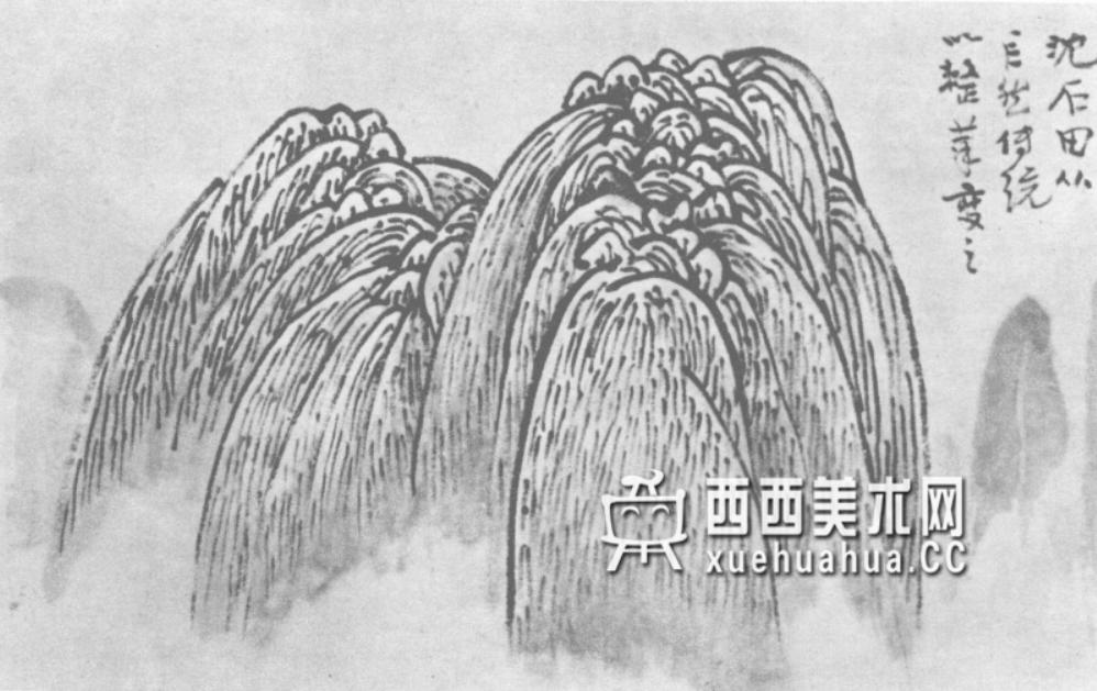 国画山石皴法详解(多图预警)(91)