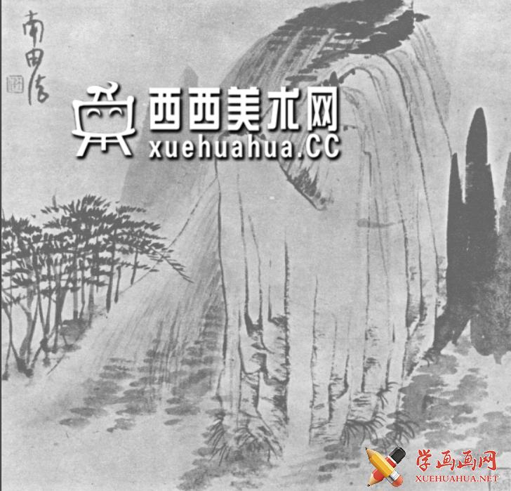 国画山石皴法详解(多图预警)(107)