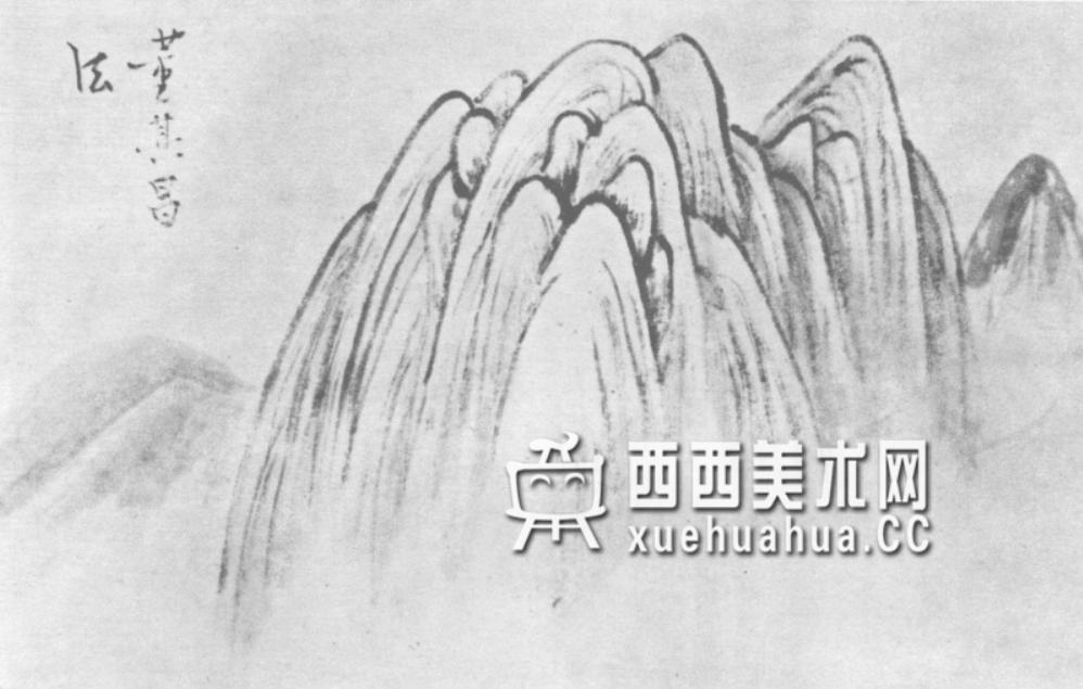 国画山石皴法详解(多图预警)(97)