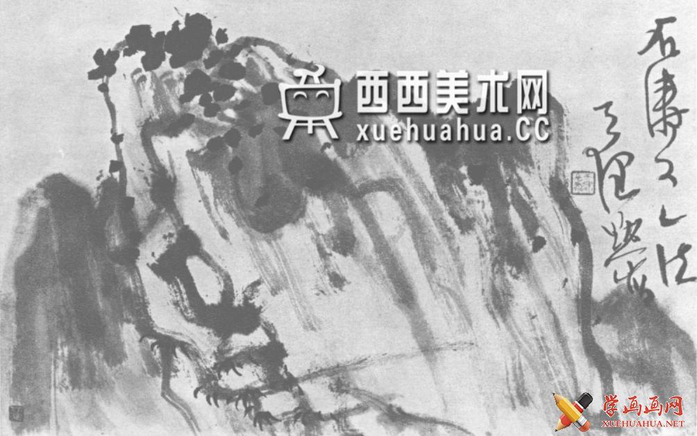 国画山石皴法详解(多图预警)(109)