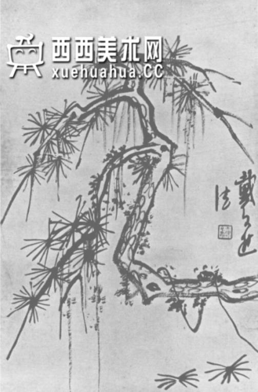怎么画树?中国画树的画法资料教程(22)
