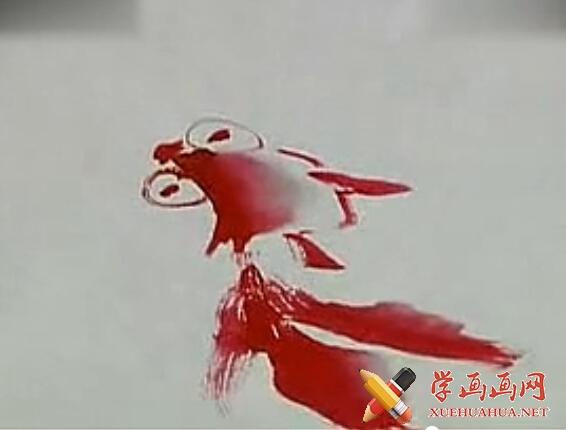 国画金鱼画法(1)