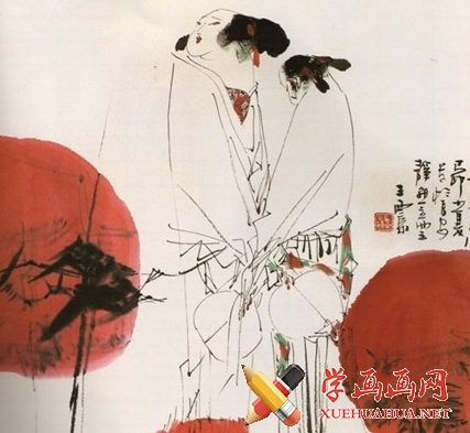 中国画白描教程(1)