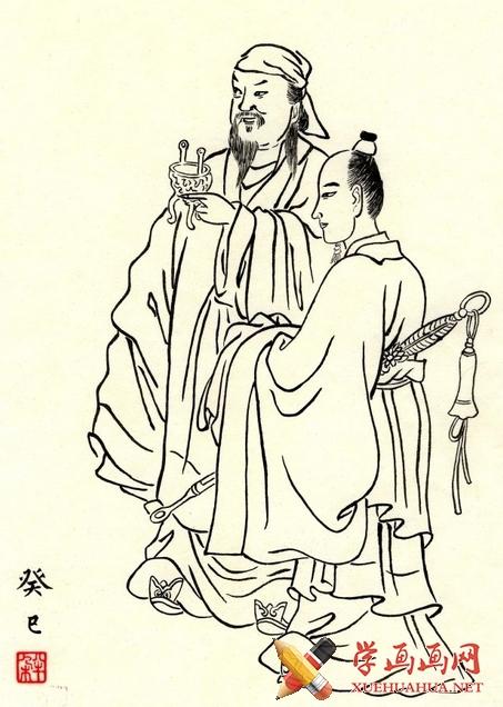 中国画白描教程(2)