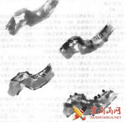 中国画写意梅花的画法(2)