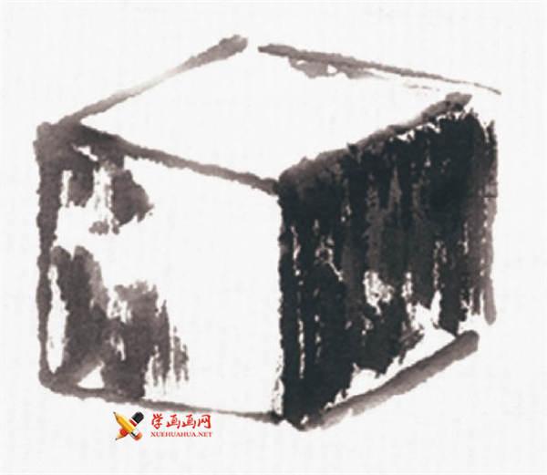 山水画基础技法:山石的画法及皴法详解(2)