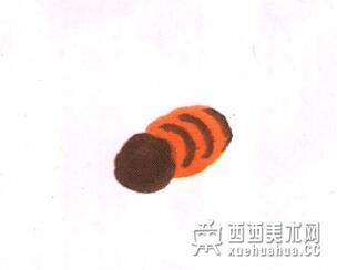 国画蜜蜂的儿童画画法教程(2)