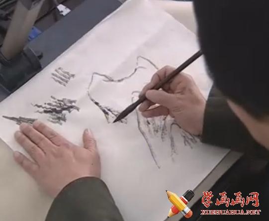 山水画基础技法视频教程(1)