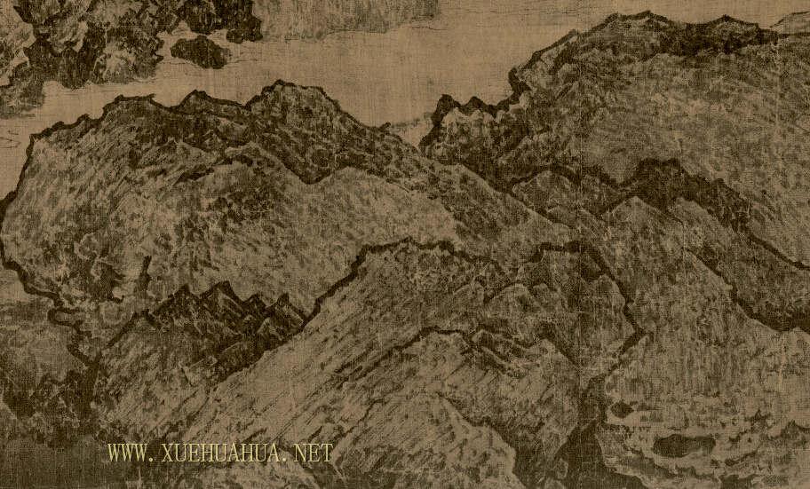 范宽《溪山行旅图》高清图片赏析(3)