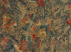 高清国画欣赏:元王蒙《具区林屋图》赏析