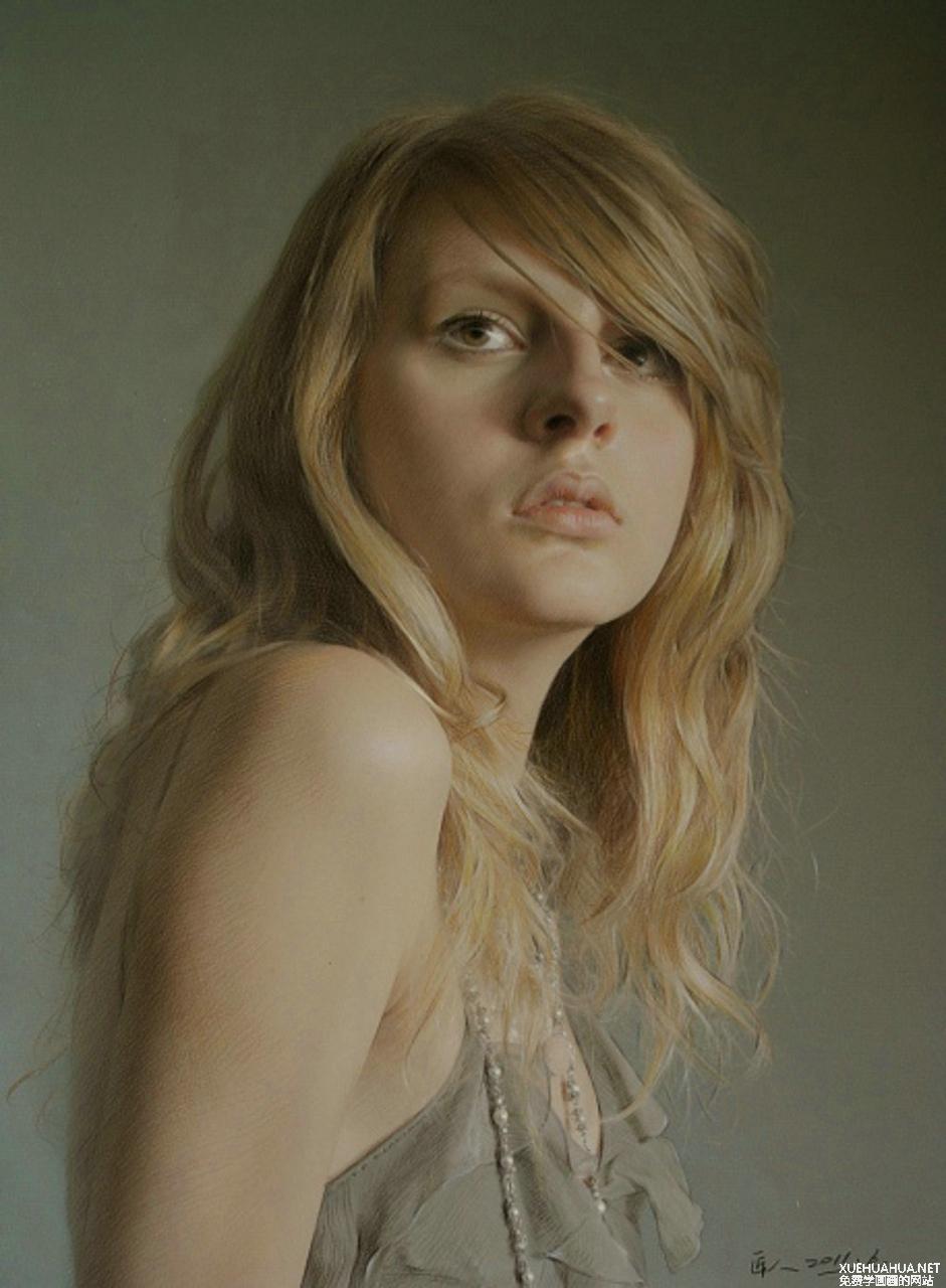 被边缘的匠人-超写实素描头像作品欣赏(11P)