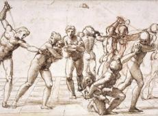 大师拉斐尔素描作品集之二12.jpg