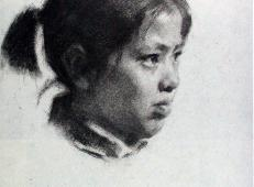 靳尚谊素描头像作品大全(高清大图22张)