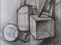 几何静物结构素描作品欣赏 (4).jpg