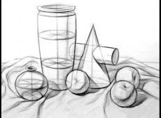 几何静物结构素描作品欣赏 (10).jpg