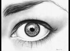 超逼真的素描眼睛画法图片【38张】