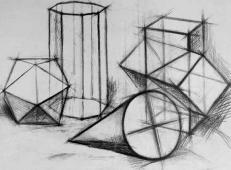 几何静物结构素描作品欣赏 (5).jpg