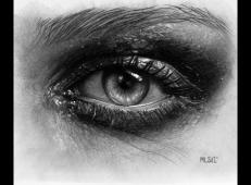 逼真的铅笔画素描眼睛画法图片 (10).jpg