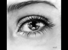 逼真的铅笔画素描眼睛画法图片 (4).jpg
