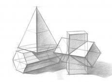 几何静物结构素描作品欣赏 (6).jpg