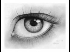 逼真的铅笔画素描眼睛画法图片 (20).jpg