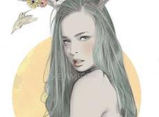 Kei Meguro人物铅笔素描画欣赏 (31).jpg