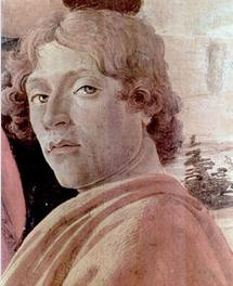 画家桑德罗·波提切利照片