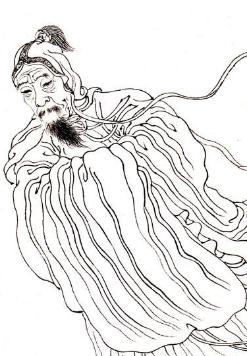 画家李衎照片