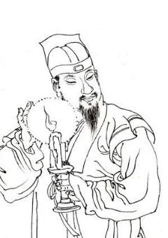 画家王渊照片