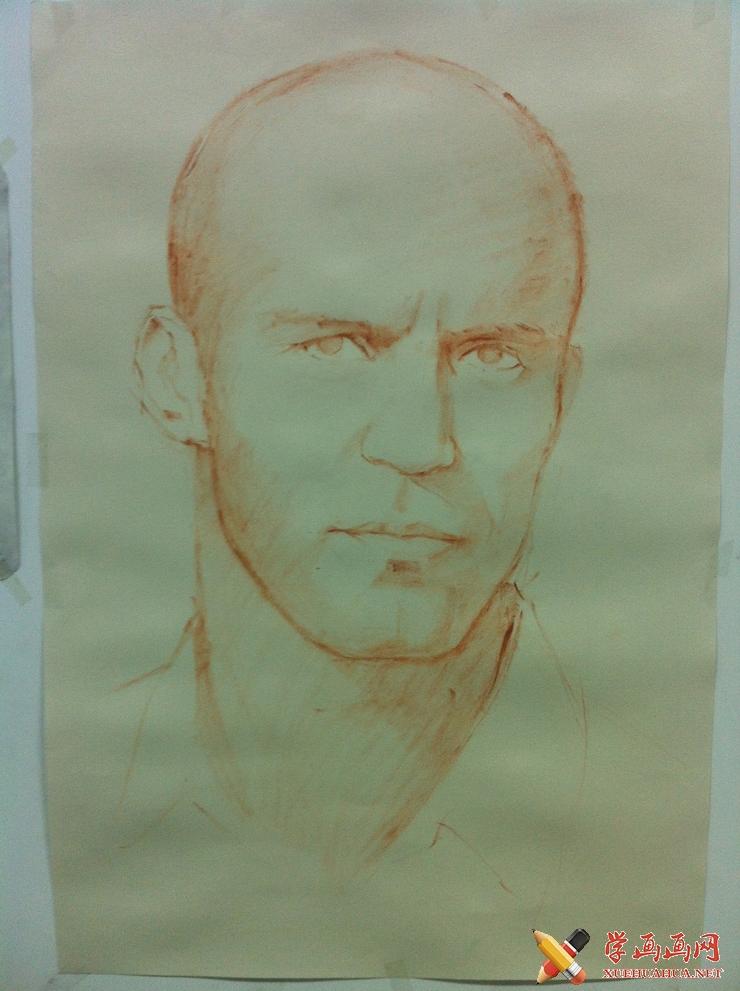 彩铅画教程_杰森斯坦森彩铅画绘制步骤(1)