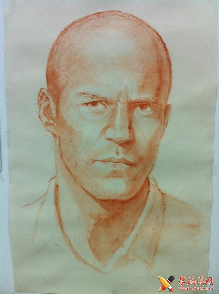 彩铅画教程_杰森斯坦森彩铅画绘制步骤(2)