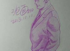 名侦探柯南彩铅画图片大全 (138).jpg