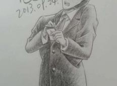 名侦探柯南彩铅画图片大全 (68).jpg