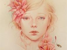 Jennifer Healy漂亮的彩铅肖像画欣赏 (9).jpg