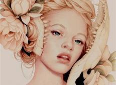 Jennifer Healy漂亮的彩铅肖像画欣赏 (2).jpg
