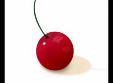 ps鼠绘一个鲜艳欲滴的小樱桃
