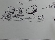 钢笔画教程:石头的表现手法视频