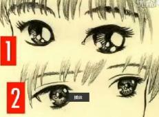 自学漫画视频教程_100种漫画眼睛的画法