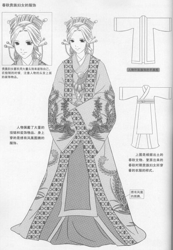 漫画教程_古典人物漫画技法(1)