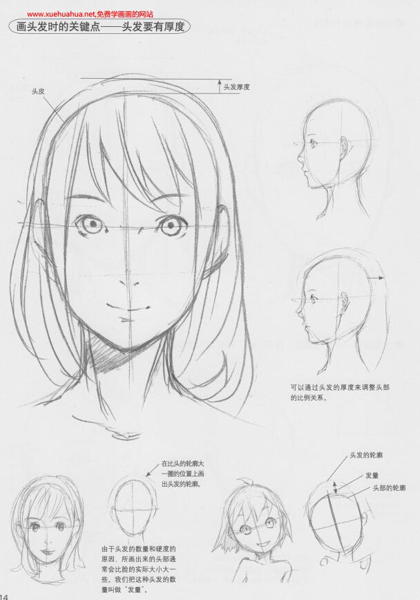 漫画学习教程:《超级漫画素描技法-人物表现篇》(1)