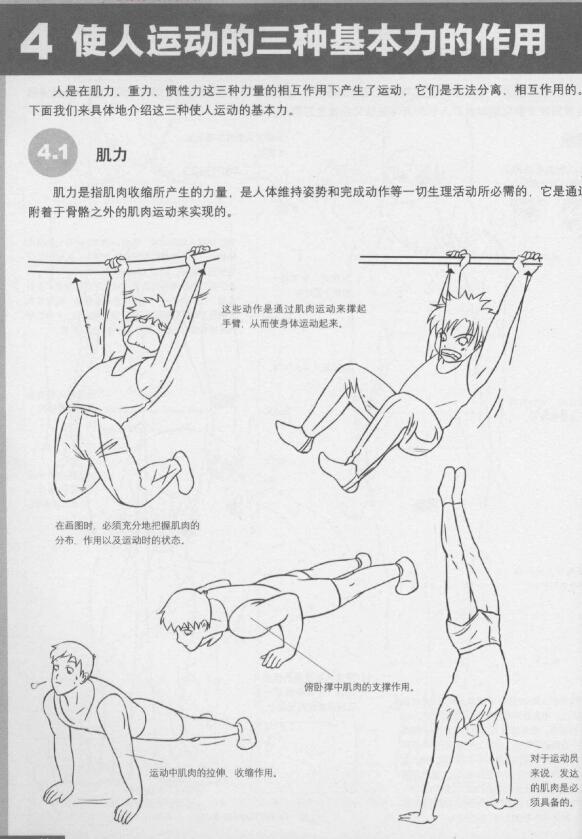 学漫画资料:《超级漫画素描技法-体育格斗篇》(1)
