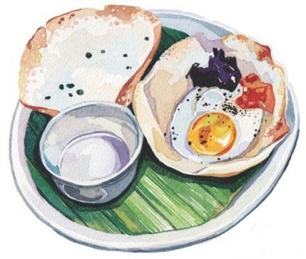 Holly Exley的美食水粉画作品欣赏(3)