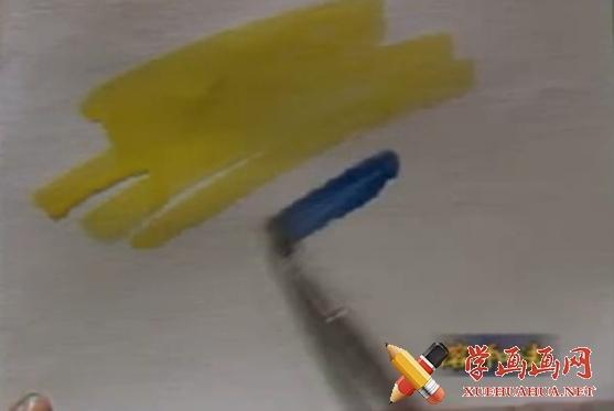 水粉画基本技法视频教程(1)