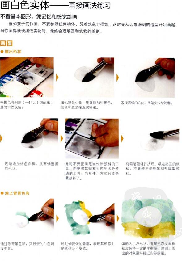水彩画完全自学教程(1)